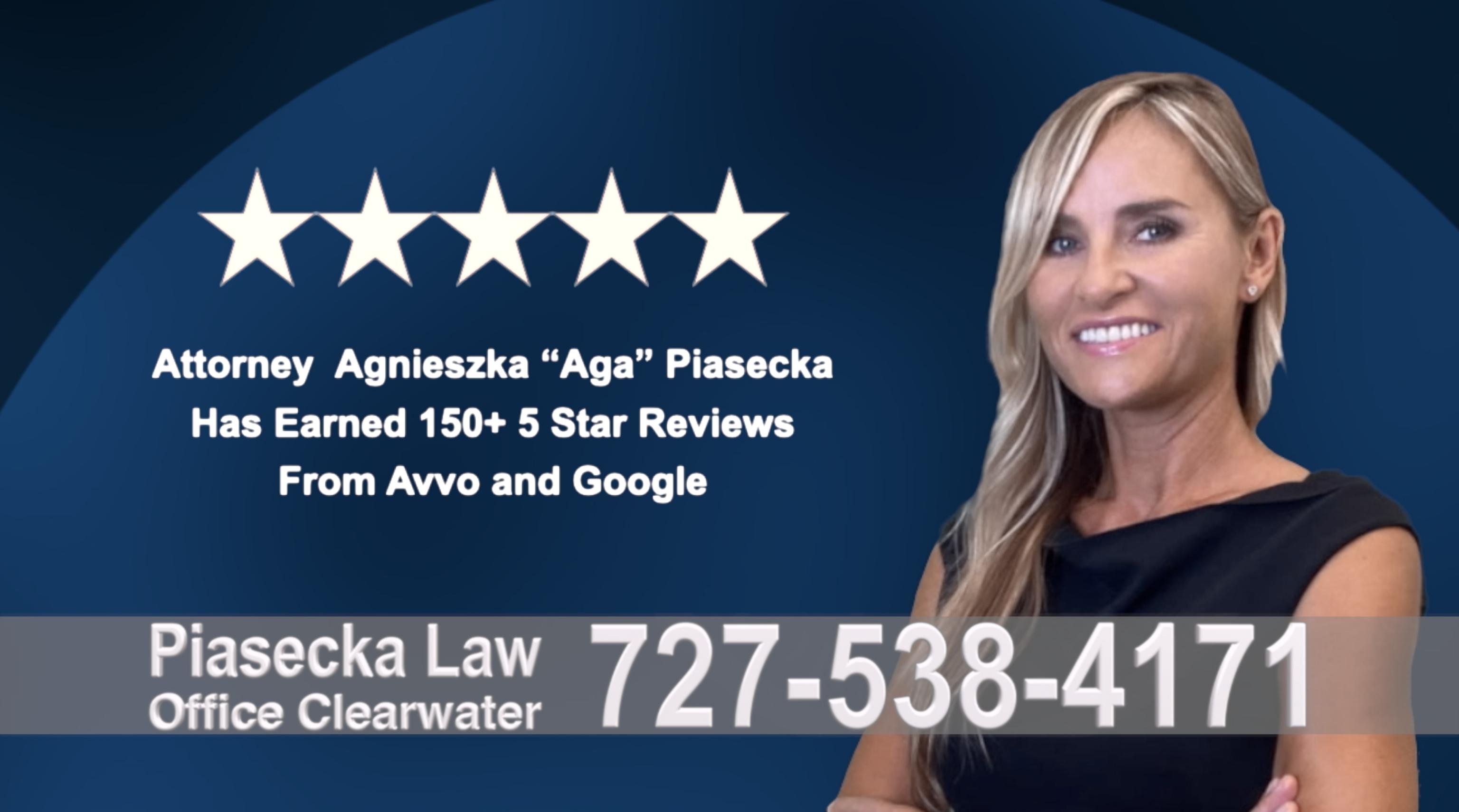 Real Estate Attorney Florida Agnieszka, Aga, Piasecka, Polish, Lawyer, Attorney, Opinie klientów, Best, Najlepszy, Polskojęzyczny, Prawnik, Polski, Adwokat, Florida, Floryda, USA