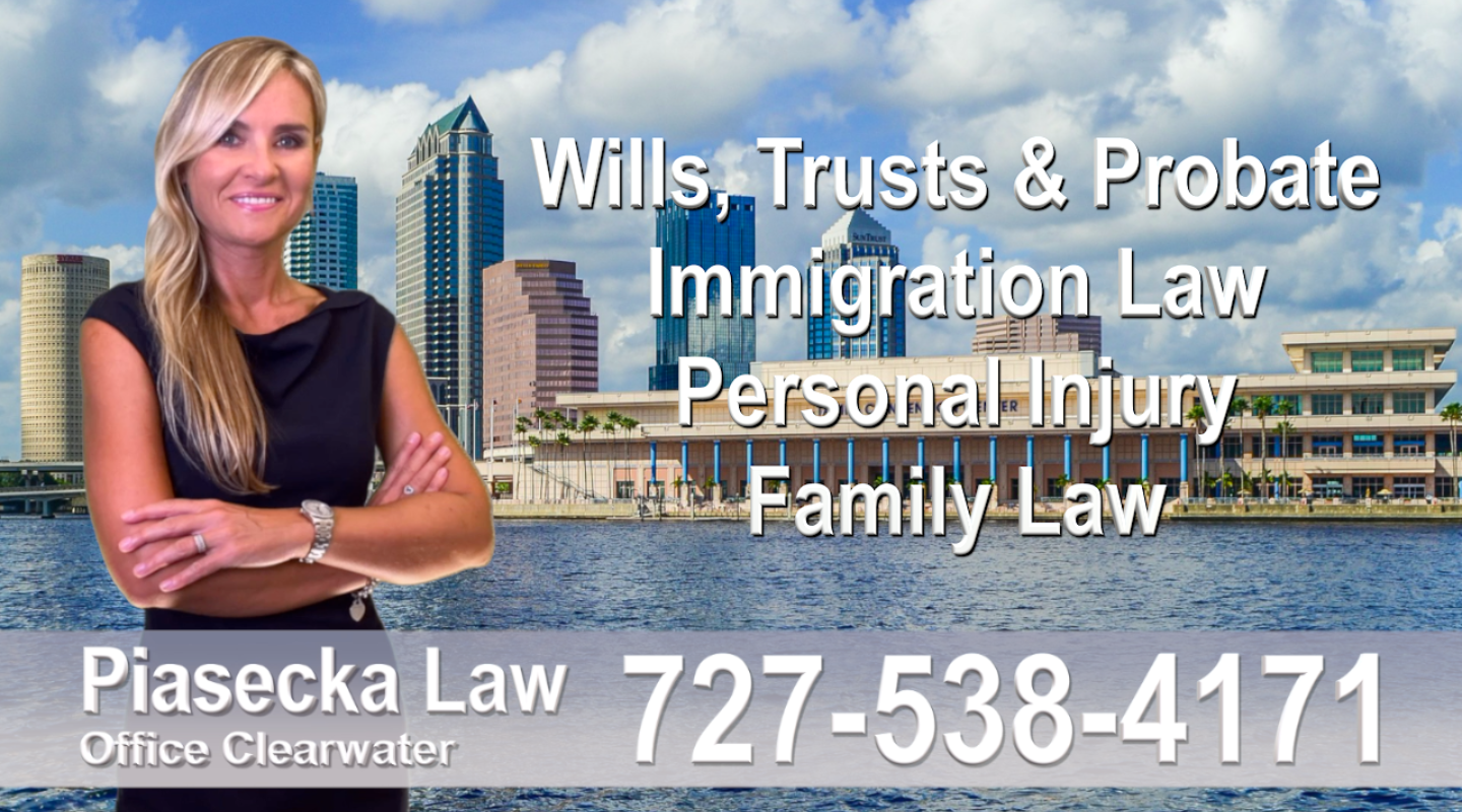 Real Estate Lawyer Florida Tampa Bay Polish Attorney Lawyer in Florida Polish speaking Wills and Trusts Family Law, Auto Accidents, Personal Injury, Immigration - Green Card